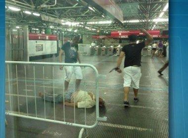 Polícia prende jovem acusado de matar ambulante em estação de metrô