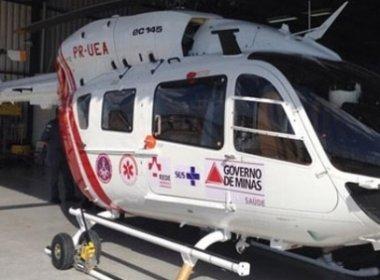 Mesmo em 'calamidade financeira', governo de MG compra mais dois helicópteros