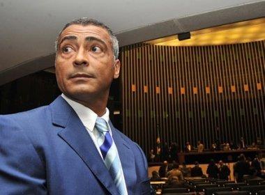 STF pede que Romário se manifeste em inquérito contra o senador