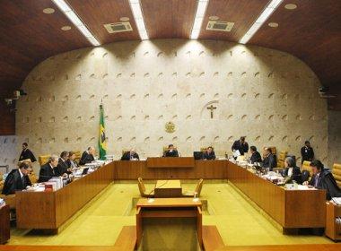 STF julga ação que discute se réus podem estar na linha sucessória da Presidência
