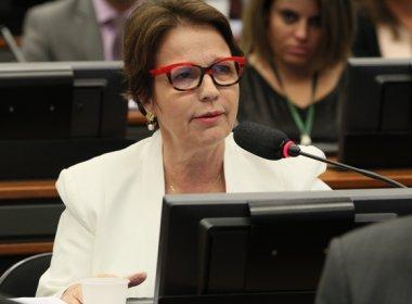 Alinhada ao Planalto, deputada Tereza Cristina é eleita líder do PSB na Câmara