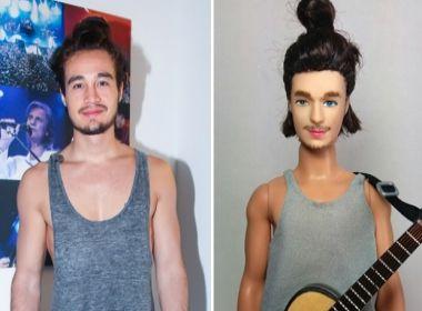 Tiago Iorc ganha boneco em sua homenagem e vira piada nas redes sociais