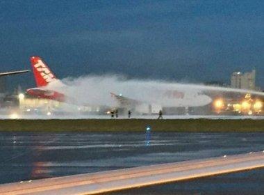 Turbina de avião pega fogo e fecha Aeroporto de Congonhas