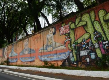 Justiça de SP libera Doria a apagar grafite sem aval do conselho
