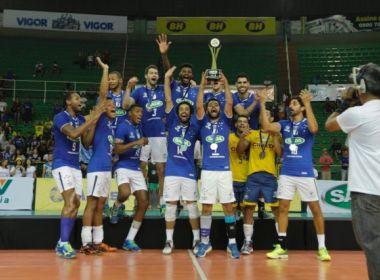 Cruzeiro vence final e leva o título do Sul-Americano de Vôlei pela 4ª vez