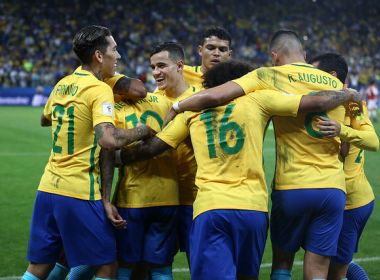 Com vaga na Copa, seleção brasileira planeja testar mais jogadores