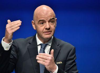 Fifa propõe playoff preliminar da Copa do Mundo com seis seleções