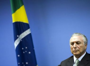 Planalto fala em 'combinação de fatores negativos' para justificar rejeição a Temer