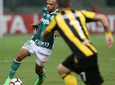 Felipe Melo diz que foi chamado de 'macaco' por uruguaio em vitória do Palmeiras