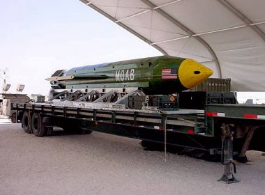 Donald Trump diz que uso de bomba no Afeganistão foi um 'evento bem-sucedido'