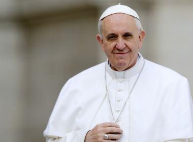Papa Francisco fala em
