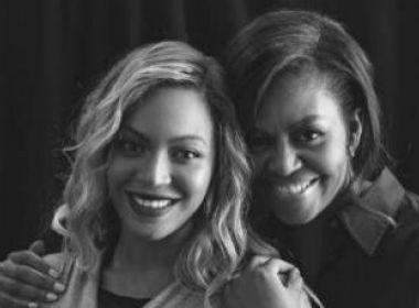 Michelle Obama parabeniza Beyoncé por programa de bolsa para mulheres