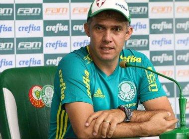 Palmeiras demite o técnico Eduardo Baptista após reunião na noite desta quinta