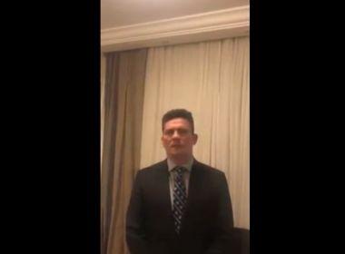 Em vídeo, Moro pede a apoiadores da Lava Jato para não irem a Curitiba