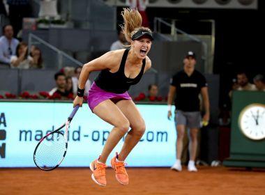 Algoz de Sharapova, Bouchard avança em Madri com desistência de Kerber