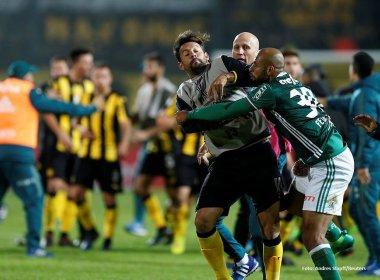 Conmebol suspende Felipe Melo por seis jogos na Copa Libertadores