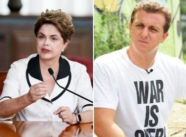Dilma ironiza 'política social de auditório' de Luciano Huck