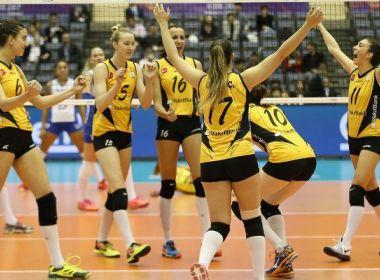 Rexona-Sesc perde de time turco e fica com vice-campeonato no Mundial