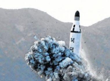 Coreia do Sul, Japão e EUA condenam novo teste de míssil da Coreia do Norte