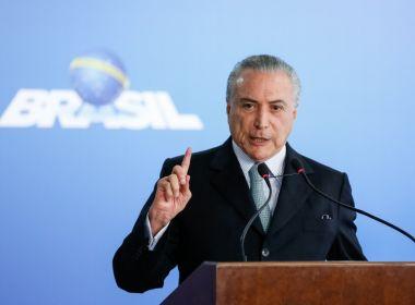 Babá do filho de Temer seria empregada pelo Planalto em gabinete; governo nega