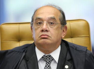 Cármen Lúcia envia ação do PGR a Mendes para que se defenda de impedimento
