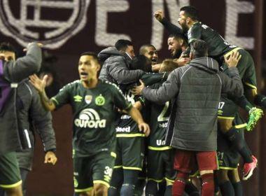 Chapecoense é punida por escalação irregular e está eliminada da Libertadores