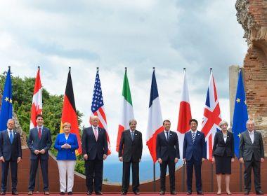 G7 termina sem unanimidade sobre clima, e condena 'práticas comerciais injustas'