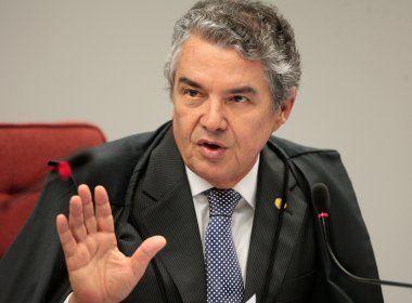 Marco Aurélio diz que só vai analisar denúncia de Aécio após julgar recursos