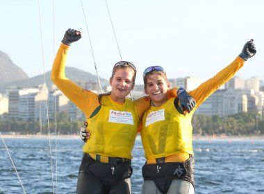 Patrícia Freitas e Martine/Kahena lideram na final da Copa do Mundo de Vela