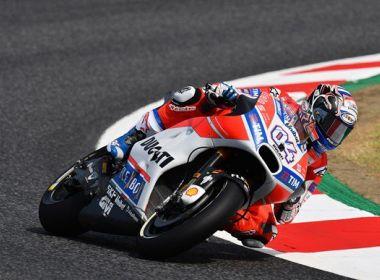 Dovizioso vence pela 2ª vez seguida e se aproxima da ponta da temporada na MotoGP