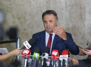 Defesa de Aécio quer que pedido de prisão seja julgado pelo plenário do STF