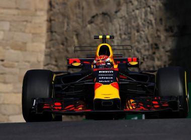 Verstappen lidera segundo treino livre e termina o dia na frente no Azerbaijão