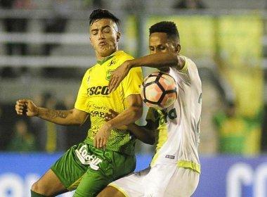 Chapecoense perde na estreia da Sul-Americana com gol aos 49 minutos do 2º tempo