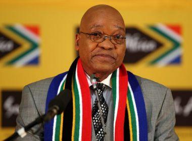Presidente da África do Sul admite corrupção em seu partido