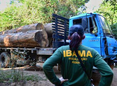 Oito viaturas do Ibama são incendiadas em ataque no Pará na madrugada desta sexta