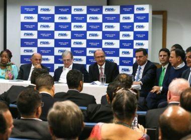 PSDB não toma decisão sobre apoio ao governo e planeja convenção para agosto
