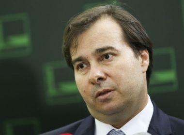 Rodrigo Maia diz que não vai votar MP sobre mudanças na reforma trabalhista