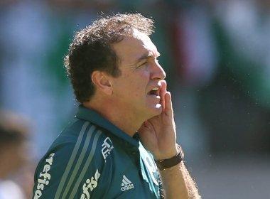 Cuca exalta reação do Palmeiras e promete 'retiro' em Atibaia
