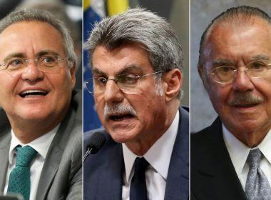 PF conclui que Sarney, Jucá e Renan não obstruíram a Lava Jato