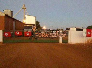 MST invade fazenda do Grupo Maggi em Rondonópolis, no Mato Grosso