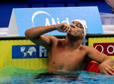 João Gomes conquista a medalha de prata nos 50m peito no Mundial