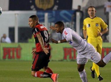 Santos faz 4 e vence na Vila, mas Fla avança e encara Botafogo na Copa do Brasil