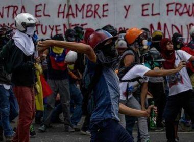 Chega a cinco o número de mortos em protestos contra votação na Venezuela