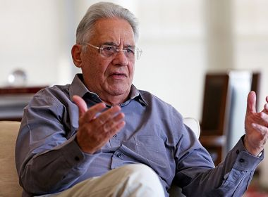 FHC diz que, no lugar de Temer, anteciparia eleições