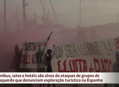 Espanha: Moradores de Barcelona protestam contra crescimento do turismo
