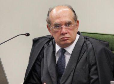 CASO GILMAR MENDES:  O STF AINDA NÃO SE MANIFESTOU