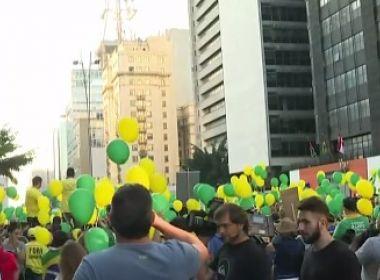 'Vem Pra Rua' faz ato na capital paulista contra corrupção
