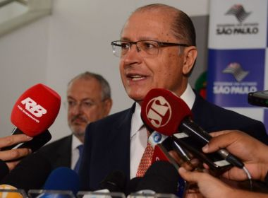 'Eu quero ser o presidente do povo brasileiro', diz Geraldo Alckmin