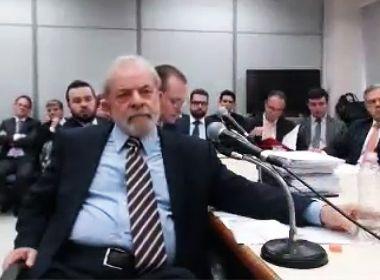 Lula não responde a todas as perguntas em depoimento a Moro