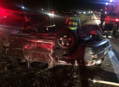 Três mulheres são lançadas fora do carro e morrem em acidente em Piracicaba